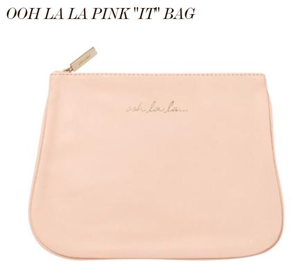 Ooh La La Pink It Bag