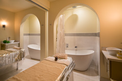Wet room for couples