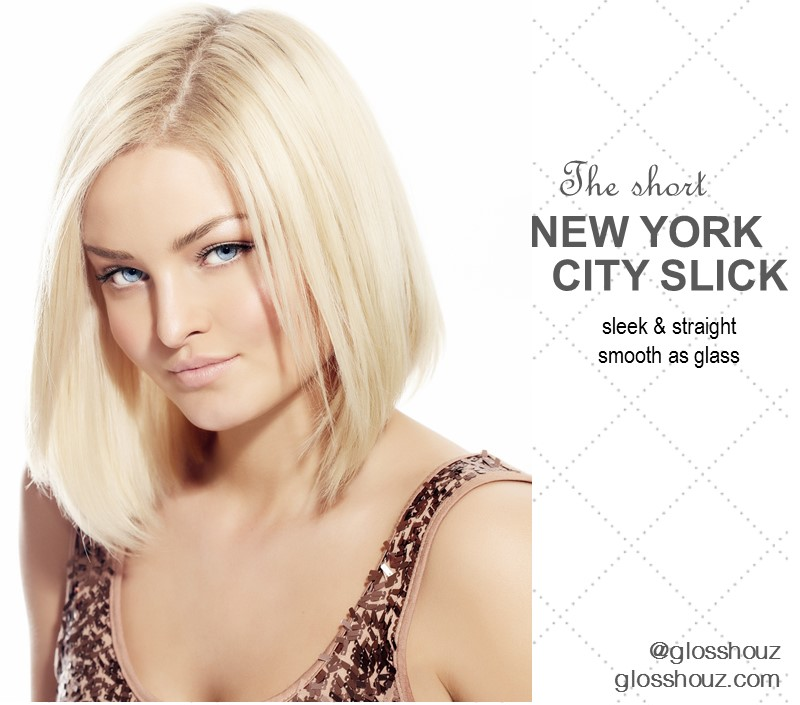 NYC Sleek CIty-style Blowout Short