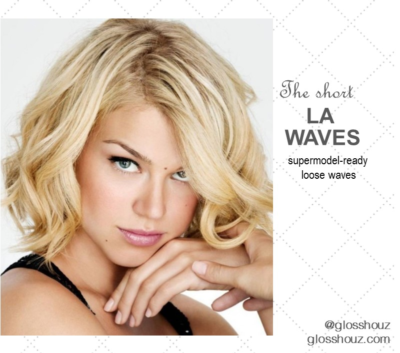 LA Waves City-style Blowout Short