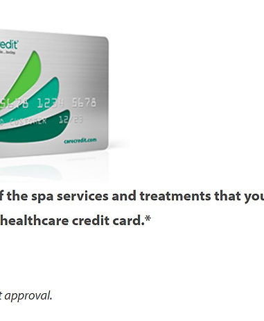 CareCredit Credit Card financing