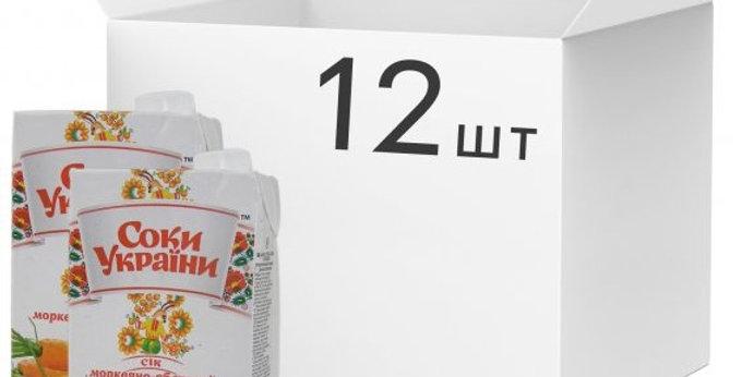 Сік ТМ Соки України яблуко 1 л