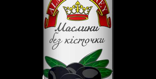 Маслини ТМ Королівський Смак б/к 0,314 г