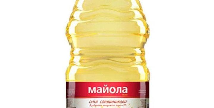 Олія   ТМ Майола  рафінована  5 л