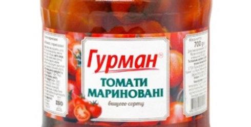 Помідори ТМ Гурман  мариновані 0,700 г