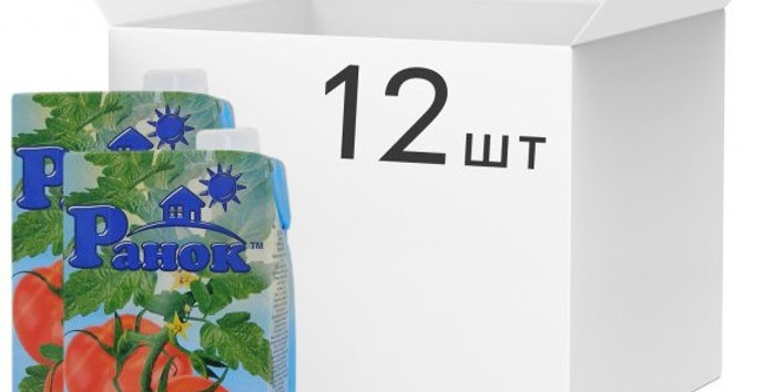Сік ТМ Ранок Томатний 1 л
