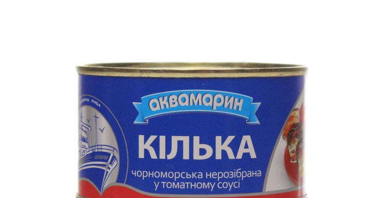 Кілька ТМ Аквамарин в томатному соусі 0,240 г