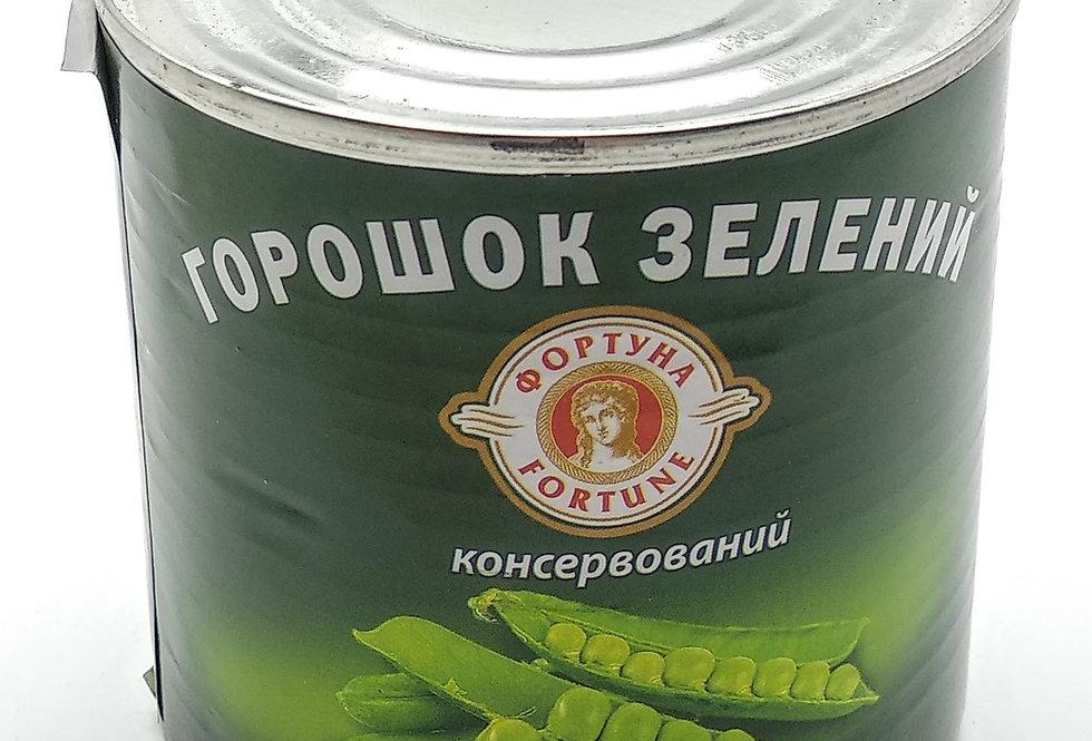 Горошок зелений ТМ Фортуна 0.425 г
