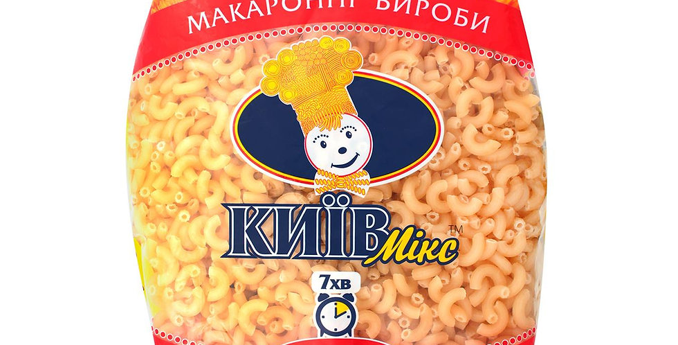 Макарони Київ-Мікс 1 кг, рожки