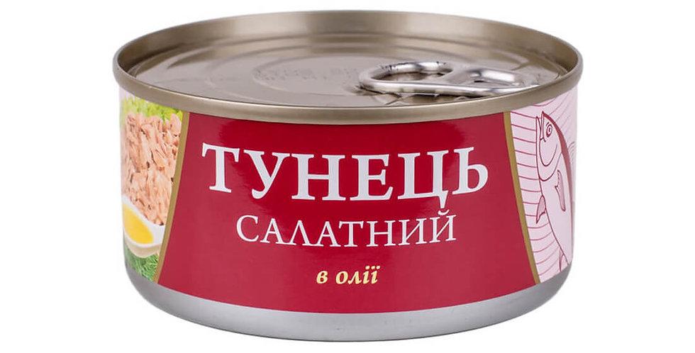 Тунець FISH LINE салатний 0,185 г