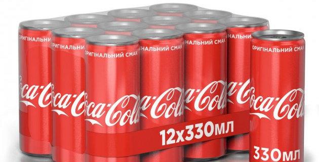 Кока-Кола ж/банка 0,33 л