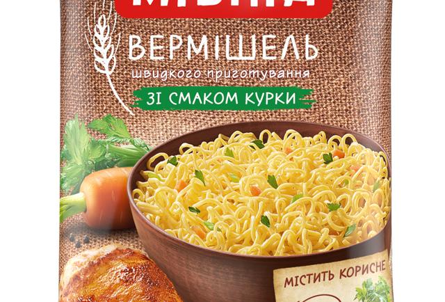 Вермішель Мівіна куряча 60г
