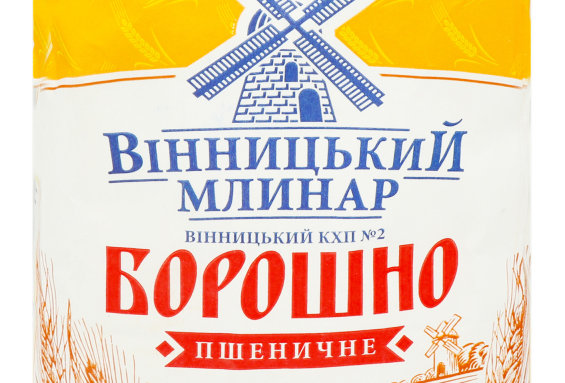 Борошно пшеничне 2 кг ТМ Вінницький Млинар
