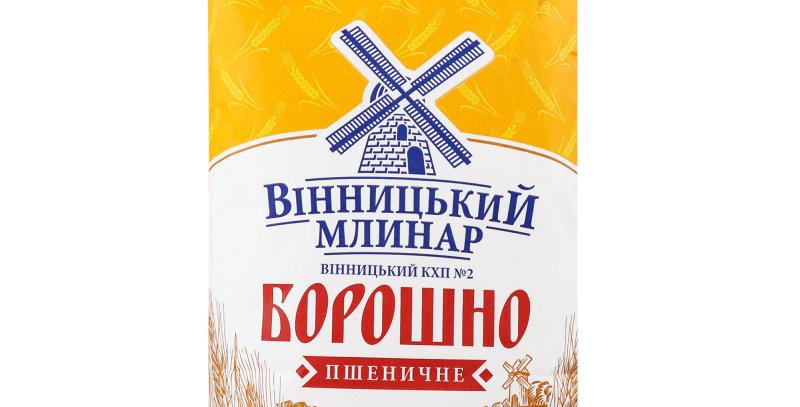 Борошно пшеничне 5 кг ТМ Вінницький Млинар