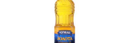 Олія ТМ Чумак Золота  рафінована 0,9 л