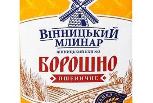 Борошно пшеничне 1 кг ТМ Вінницький Млинар
