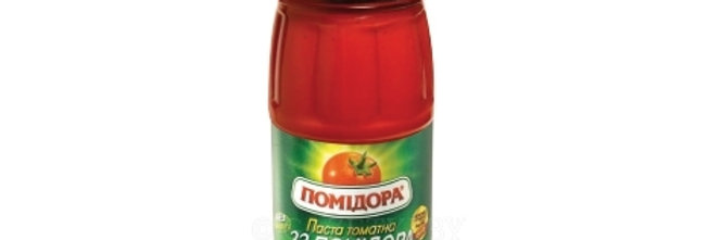 Паста томатна 33Помидора 0,480 г
