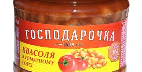 Квасоля ТМ Госодарочка в томатному соусі 0,500 г
