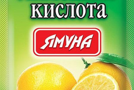 Лимонна кислота Ямуна 50 г