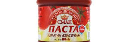 Паста томатна ТМ Королівський Смак 0,480 г