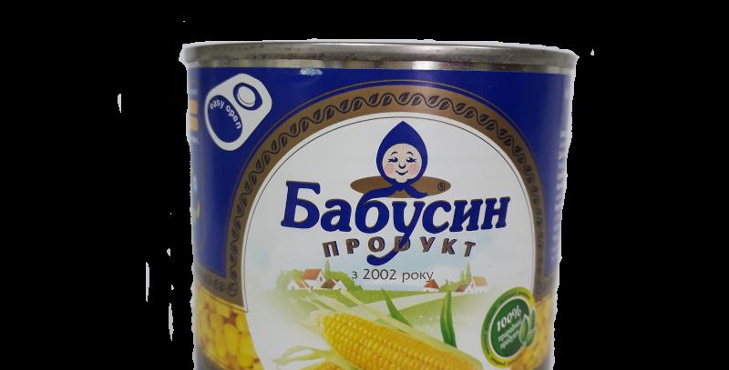 Кукурузка ТМ Бабусин продукт, ж/б, 400 г