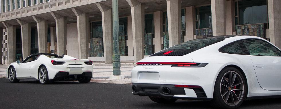 Finest Car Rentals Ferrari Porsche
