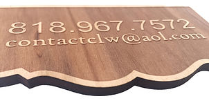 promotional wood etching, custom wooden sign, business needs, company phone number, laser cutting company, campbell laser works, contact us, custom laser cutting