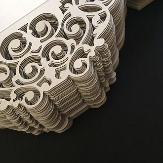 paper cutouts, wedding ideas, custom cutout, gatefold, invitations