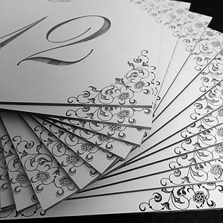 acrylic table numbers, plastic cutouts, laser cut, signs, invitations, keepsakes, personalized gifts, event planning, wedding ideas, DIY ideas