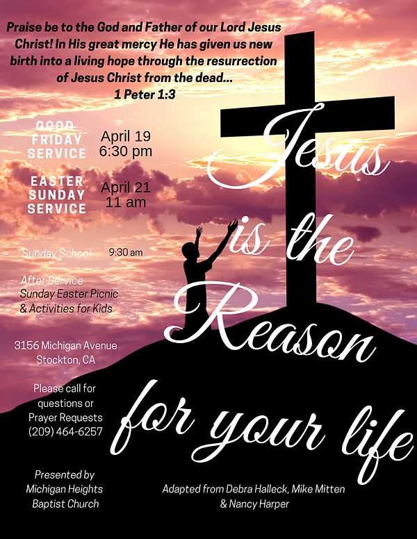 Jesus is the Reason for your life.png
