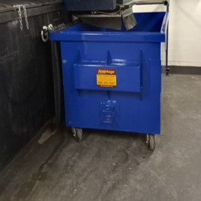 2.8 yd Custom Application Recycling Container