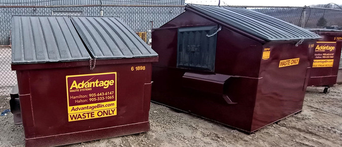 6, 8 , 3 yard Containers Build