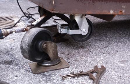Premium Locking Caster Wheel