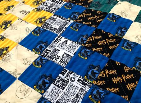 Harry Potter Transforming Cushion Quilt Tutorial