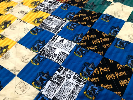 Harry Potter Transforming Cushion Quilt Tutorial