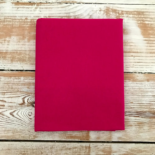 Hot Pink / Fuchsia - Basic Solid 100% Cotton