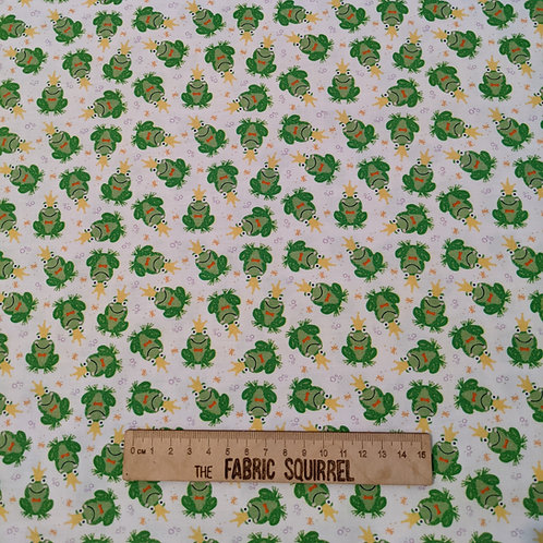 Frog Fabric - Once Upon a Time from Camelot Fabrics