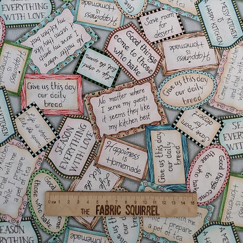 Baking Quotes - Happiness in Homemade from Maywood Studios