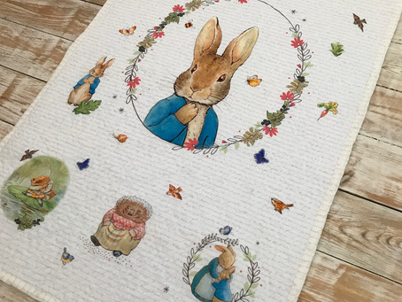 Peter Rabbit Panel Quilt