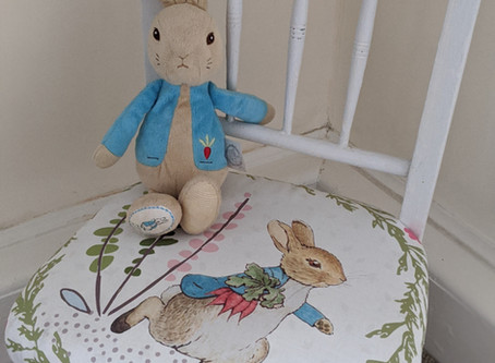 Peter Rabbit Chair Cover