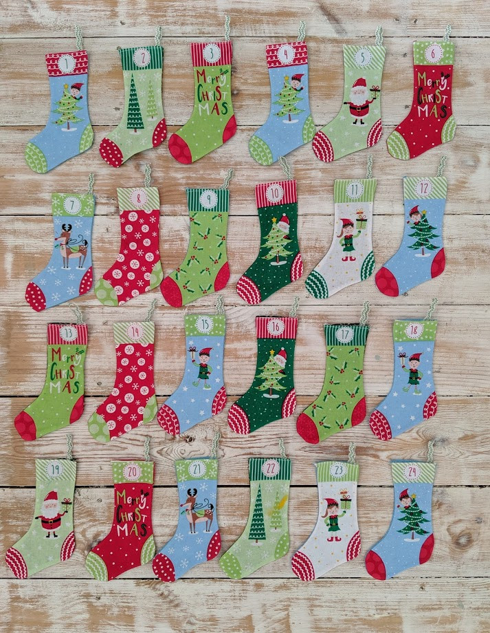 Craft Cotton Co Instructions on Panel Stocking Advent Panel Great Project!