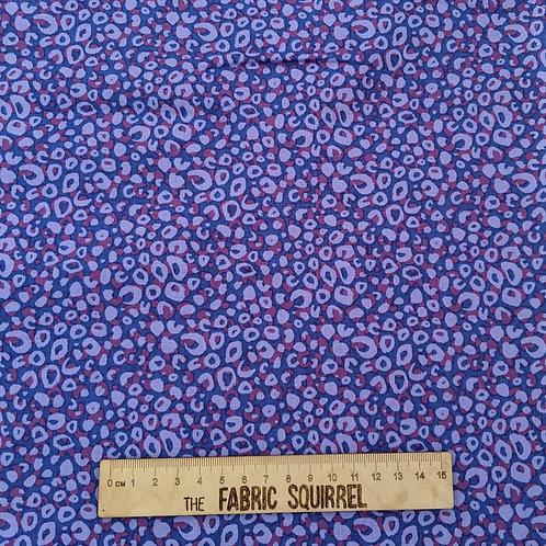 Purple Leopard Print - Tropical Leopard Fabric Collection