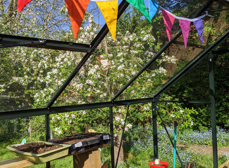 Bunting -Easy First Sewing Project