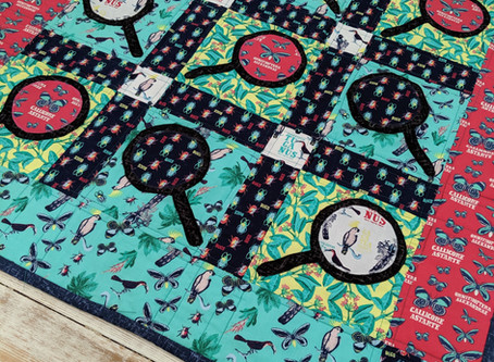 Bugs and Butterfly Quilt Tutorial