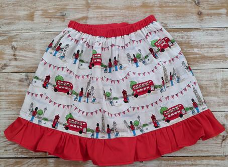 Easy Frilly Peter Rabbit Skirt