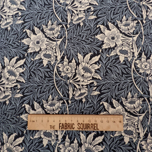 Tulip and Willow William Morris Cotton Fabric - V & A Museum from Craft Cotton