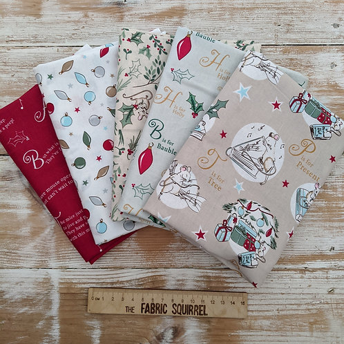 A Christmas Tail - Christmas Story Time - Debbie Shore for Craft Cotton Company