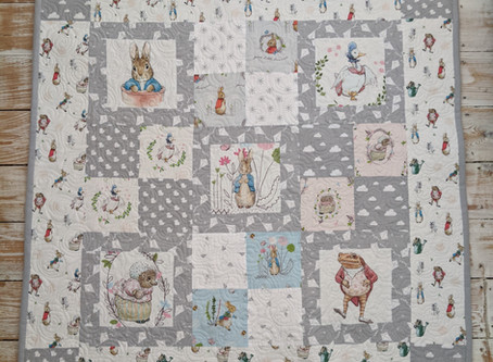 Peter Rabbit Baby Quilt