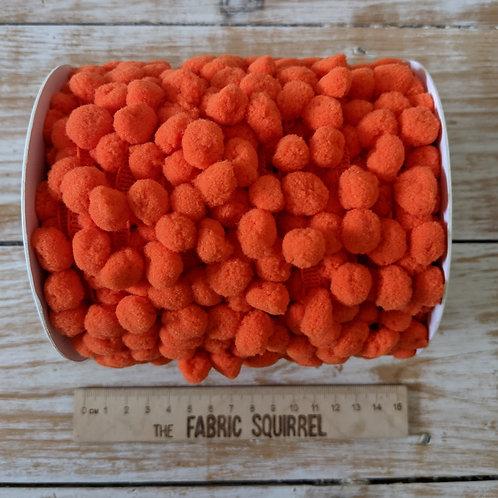 Orange Pom Pom Trim