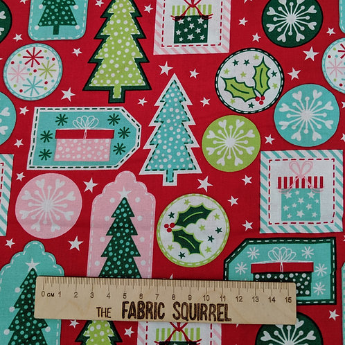 Gift Tags - Nutcracker Christmas Fabric Collection by Stuart Hillard